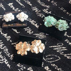 3 Clip Earring Set - Bag 1
